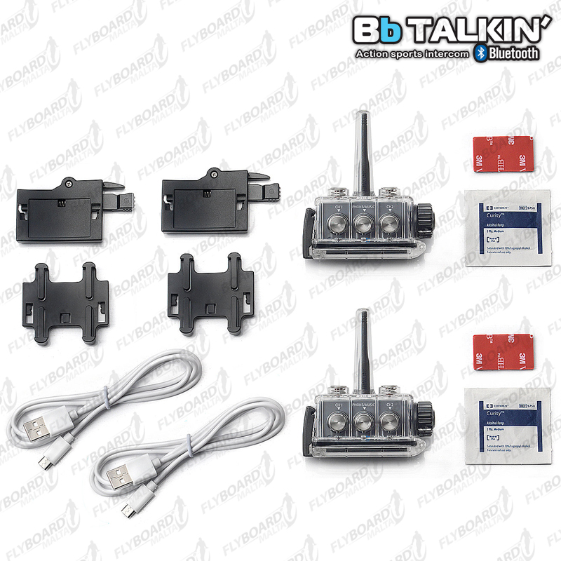 BbTALKIN' Advance Intercom Duo Pack