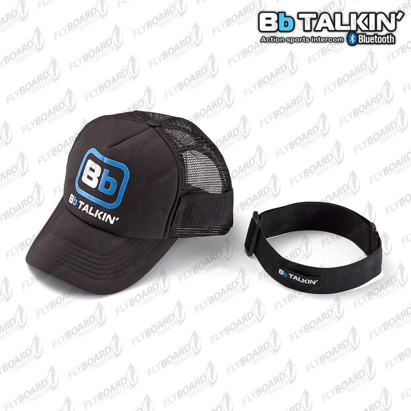 BbTALKIN' Pro Cap and Head Band Mount