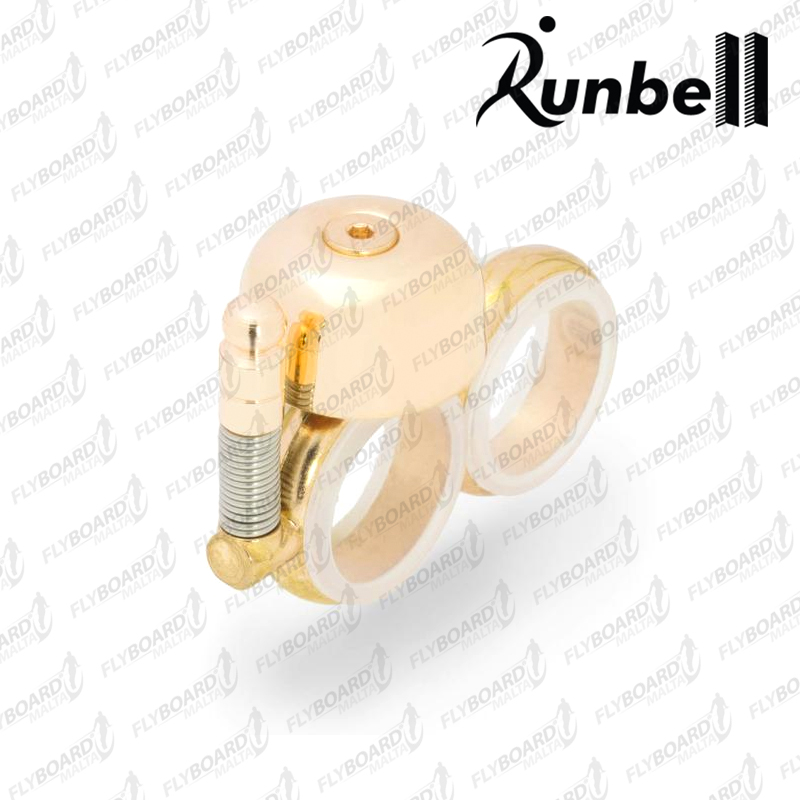 Gold Runbell - The Original Handheld Running Bell